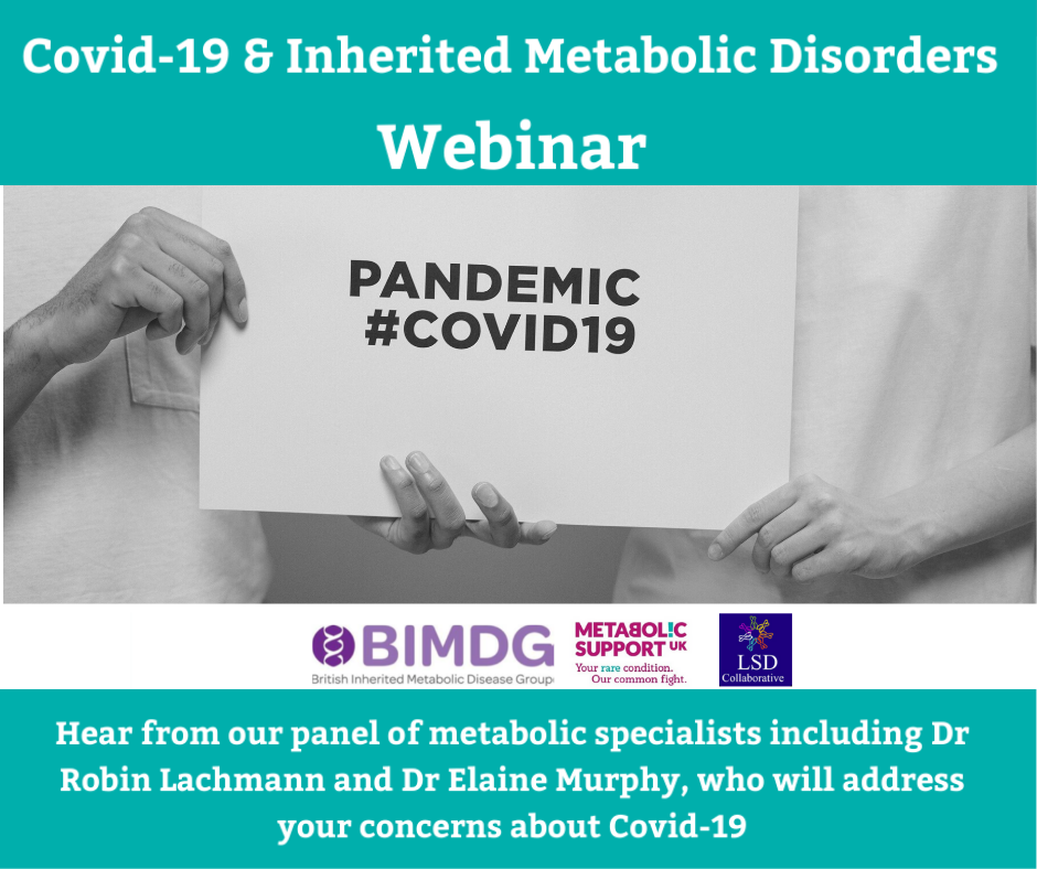COVID-19 & Inherited Metabolic Disorders